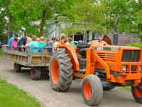 Image of tractor ride